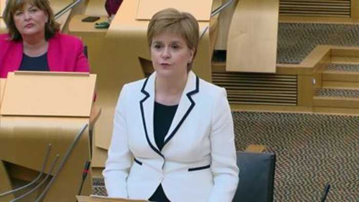 Nicola Sturgeon calls for second independence referendum by May 2021