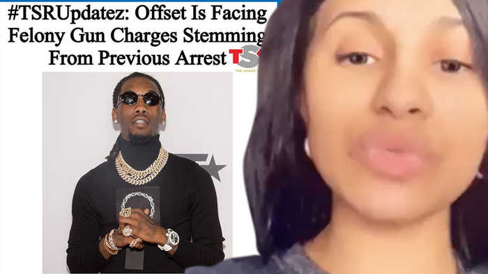 Cardi B GOES OFF On The Shade Room For Negative Coverage As Offset Is Charged With A FELONY!