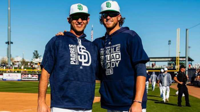 Paddack and Margevicius bring friendship to big league level
