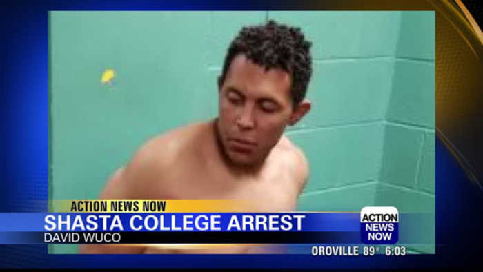 Man punches Officers after refusing to leave Shasta College Campus