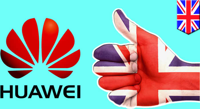 UK okays use of Huawei for 'non-core' 5G network tech