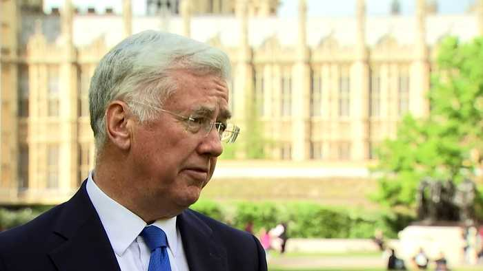 Former defence secretary calls for police inquiry into leak