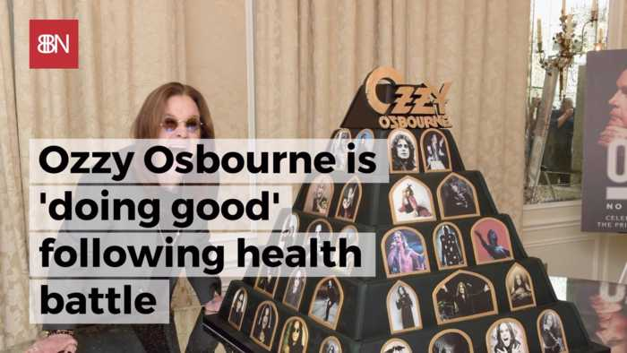 Ozzy Osbourne Is Getting Back On His Feet