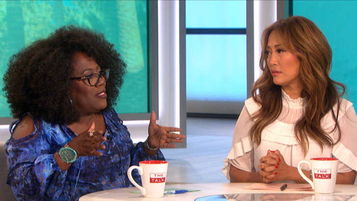 The Talk - Carrie Ann Inaba Emotionally Shares Audio of Father's Last Words to Her