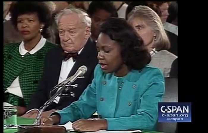Biden Reportedly Spoke With Anita Hill