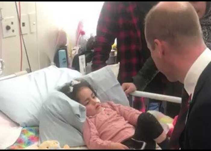 Prince William Meets Christchurch Shooting Survivors, Emergency Workers, During Anzac Day Visit