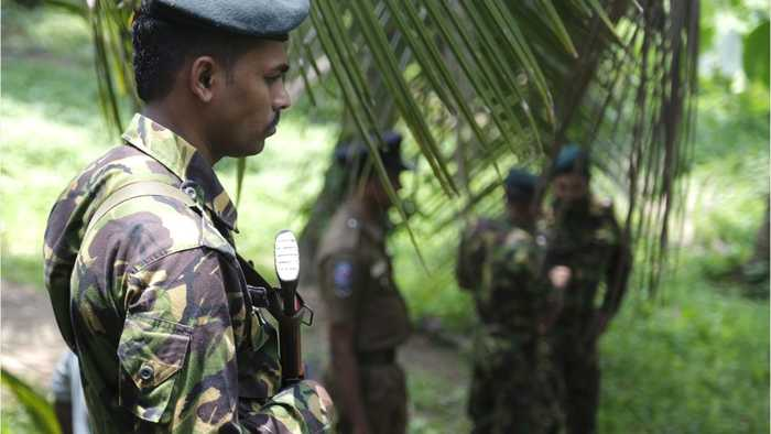 Sri Lankan Police Arrest Three In Raid, Seize Grenades & Swords
