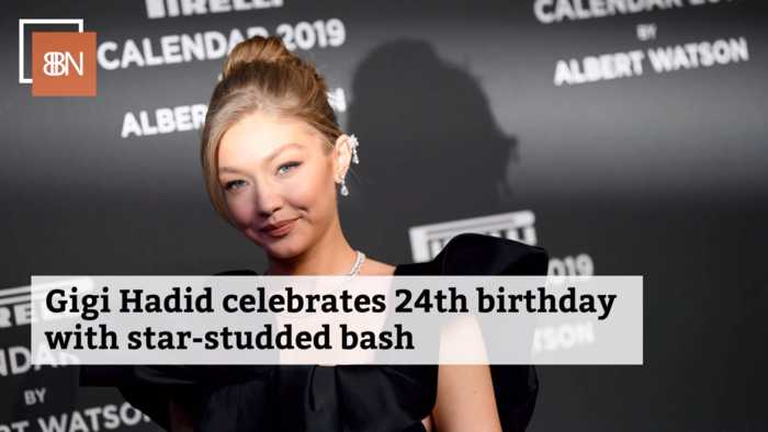 Gigi Hadid's Birthday Party Was Star Studded