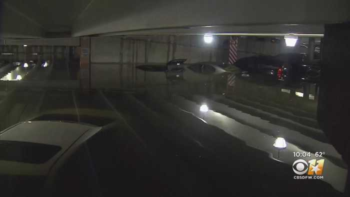 1 Of 2 Love Field Parking Garages Still Closed After Early Morning Flooding