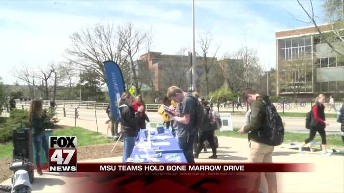 MSU Teams hope to score a marrow match for beloved executive AD