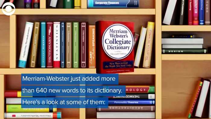 WEB EXTRA: New Dictionary Words