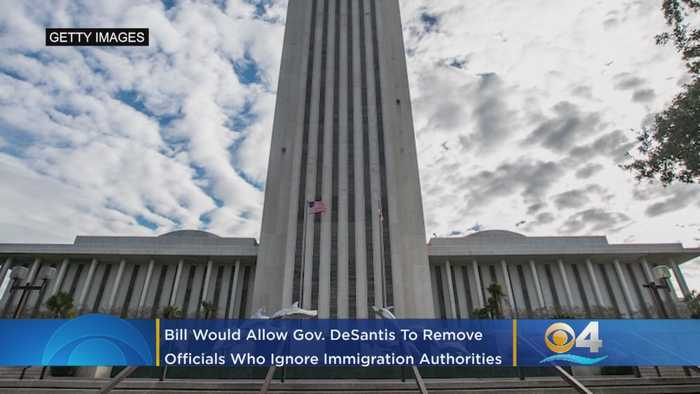 Sanctuary-City Bill Would Give Governor DeSantis Power To Enforce Immigration Laws