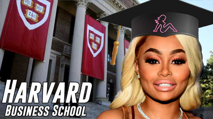 Blac Chyna Headed To HARVARD Business School In A Desperate Attempt To Reform Herself!