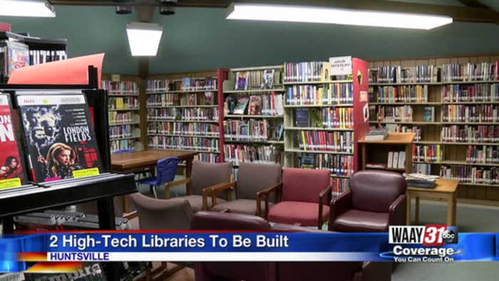 New Libraries Coming to Huntsville