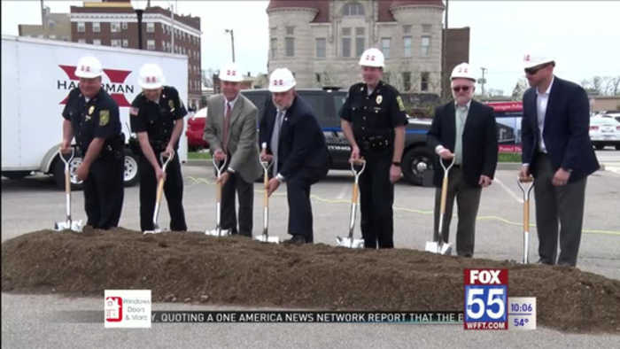 Huntington Police break ground on new facility