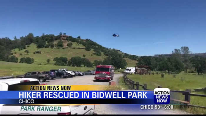Hiker rescued by Chico fire crews in Upper Bidwell Park