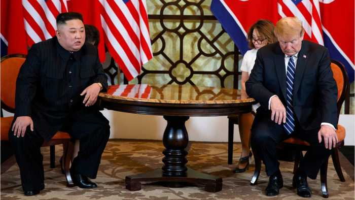 Kim Jong Un Says Peace On Korean Peninsula Depends On U.S. Attitude