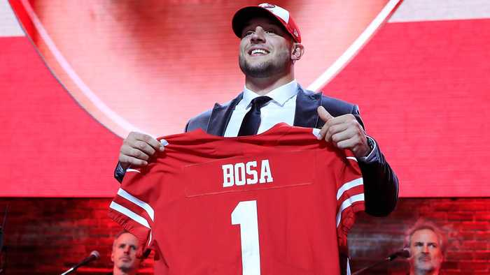 San Francisco Goes Big With Nick Bosa