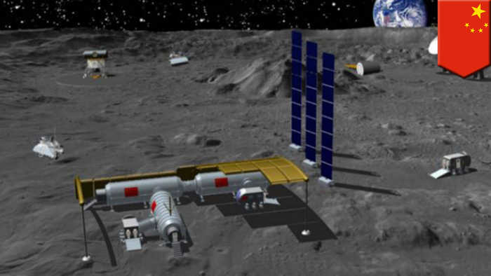 China wants to build its own base on the moon in the next decade