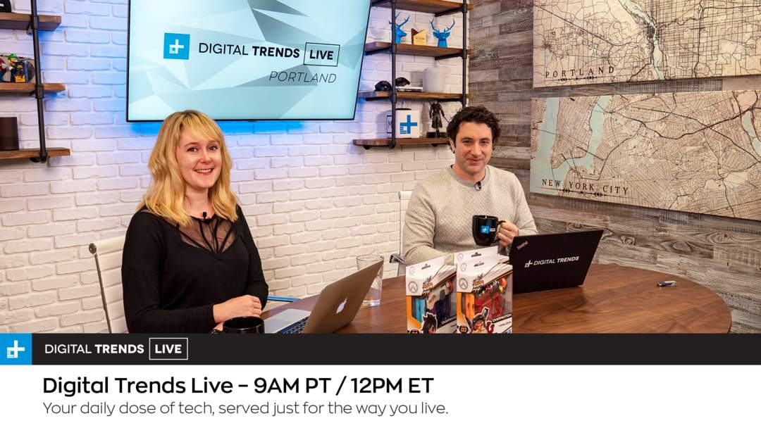 onenewspage.com - Digital Trends Live - 4.26.19 - Amazon Promises One-Day Prime Deliveries + Tech Briefs With Digital Trends & Flipboard