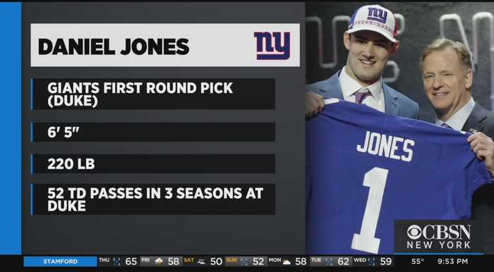 Jets And Giants Make Their First Round Picks