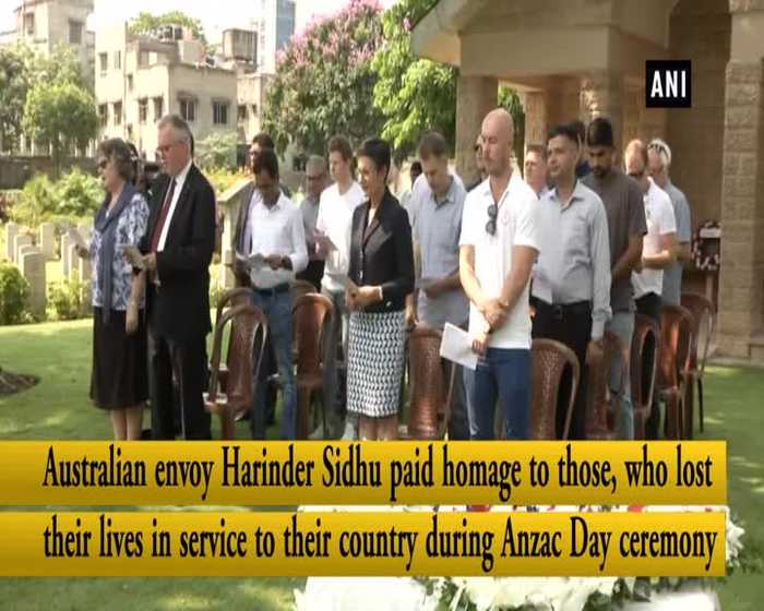Anzac Day observed in Kolkata slain soldiers remembered