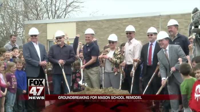 Mason Public Schools break ground on two major projects