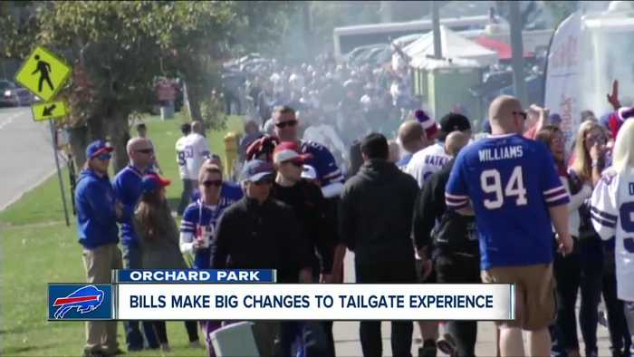 Tailgating at your bus or limo bus no longer allowed at Bills games
