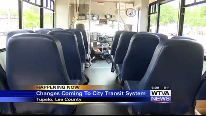 Changes to Tupelo Transit