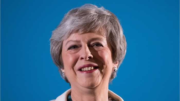 Theresa May Heckled At Conservative Conference