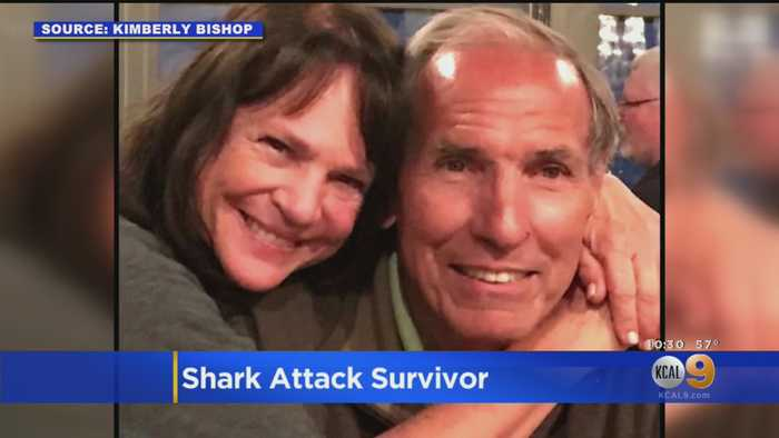 After Shark Took Massive Bite Out Of Her Leg, Glendale Woman Hoped He'd Had Enough