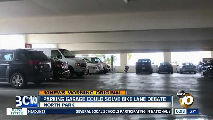 Parking garage could help solve North Park debate over bike lanes
