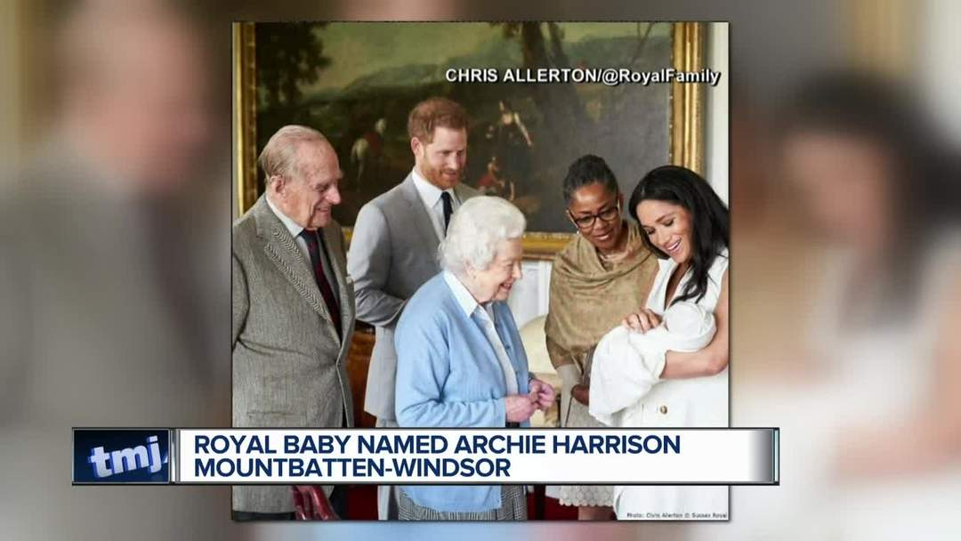 Royal baby Archie introduced to queen, other - One News ...