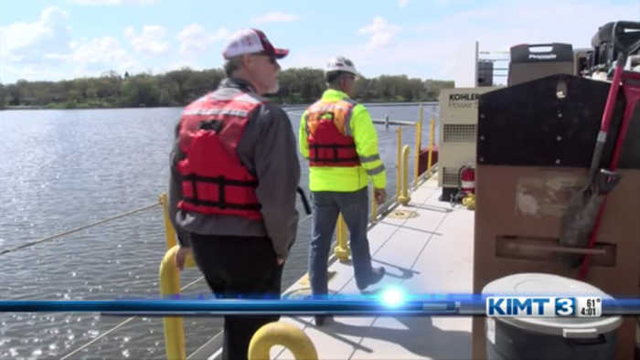 MN Governor's Fishing Opener: Dredge Tour