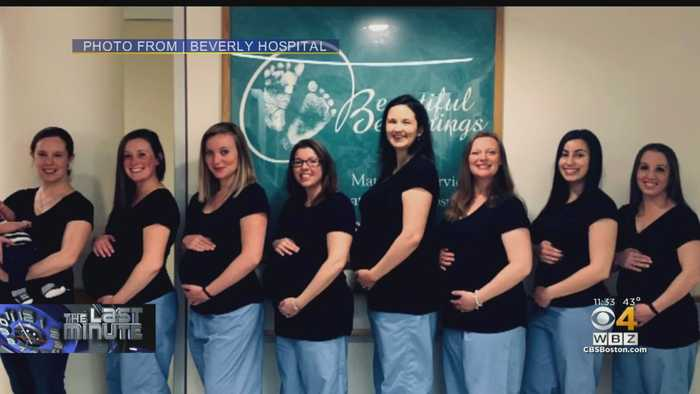 8 Maternity Ward Nurses In Beverly Are Pregnant At The Same Time