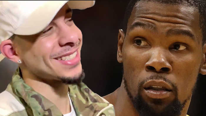 Kevin Durant Throws MASSIVE Shade At Blazers & Seth Reveals He Tried To JINX Steph Curry To Miss