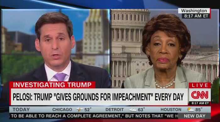 Maxine Waters says Trump lacks 'expertise' to negotiate with China