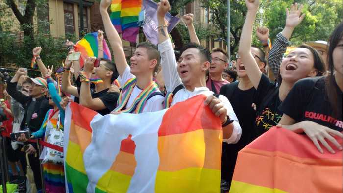 Taiwan Becomes First Asian Country To Legalize Same-Sex Marriage