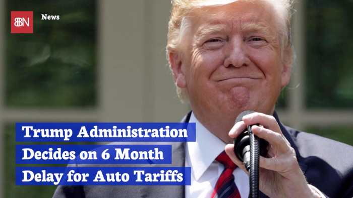 President Trump Holds Off On Auto Tariffs For Now
