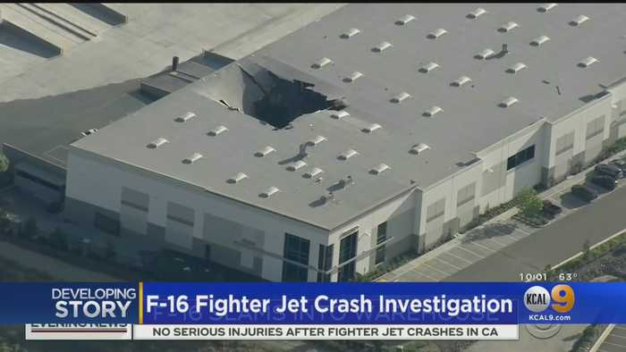 New Details Emerge In F-16 Jet Fighter Crash
