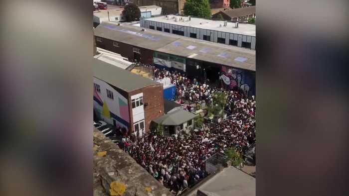 Crowds gather in Peckham after Tyler, The Creator cancels gig