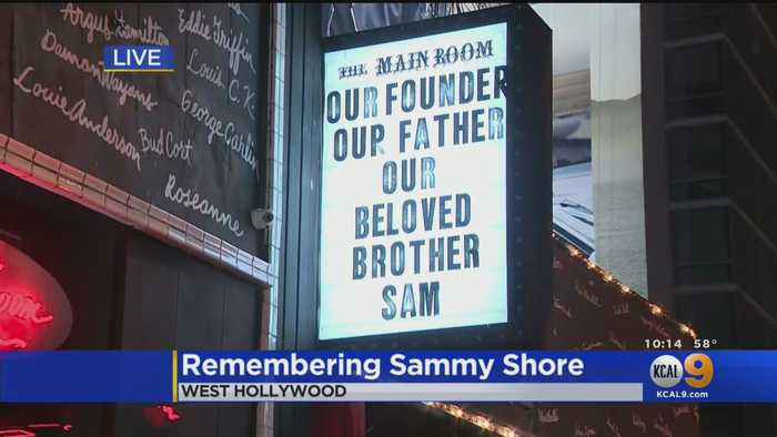 Comedy World, Fans Stop To Mourn The Loss Of Sammy Shore