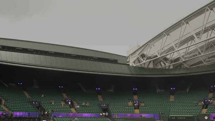 Wimbledon celebrates new roof on No. 1 Court