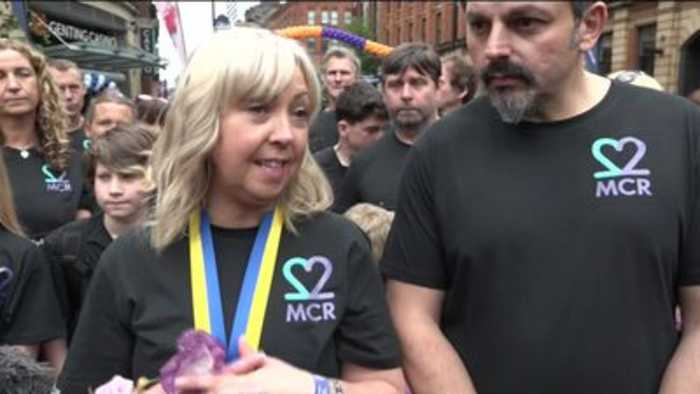 Mother honours daughter in Great Manchester Run