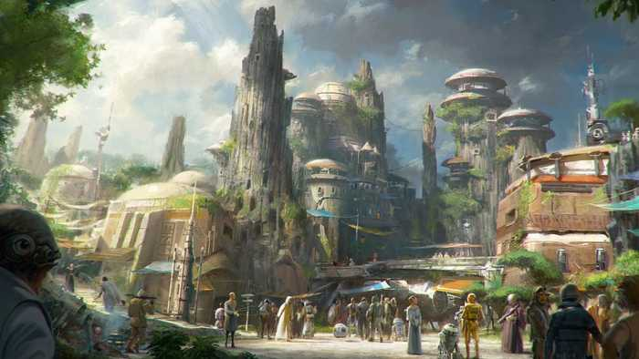 Disneyland President Teases 'Star Wars: Galaxy's Edge'
