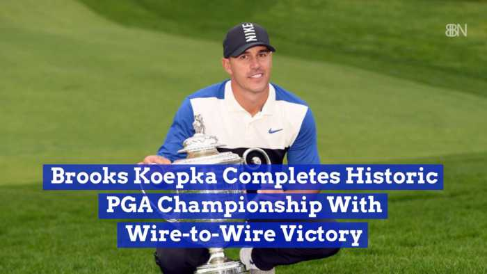 Brooks Koepka Does It Again At The PGA