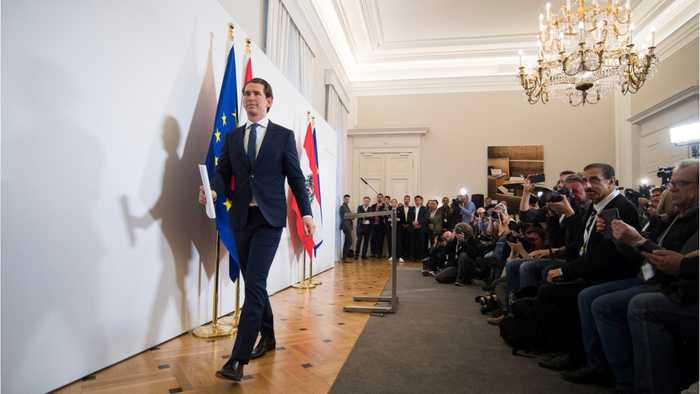 Austrian Government: far right leader caught in video sting