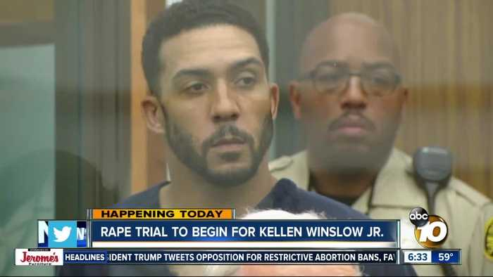 Trial begins for former NFL player Kellen Winslow II