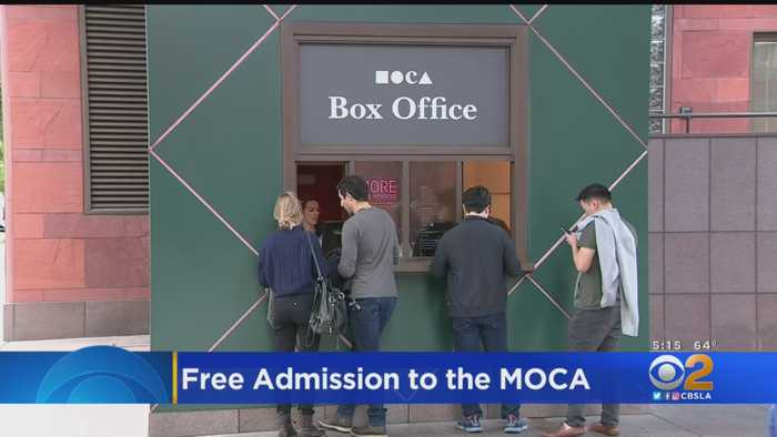 Admission To MOCA Will Soon Be Free Thanks To Donation From Board Trustee