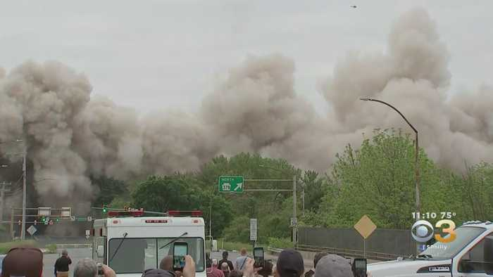 Martin Tower's Bethlehem Steel Headquarters Is Imploded
